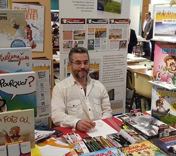 Salon du livre du Mesnil-Esnard, Avril 2018