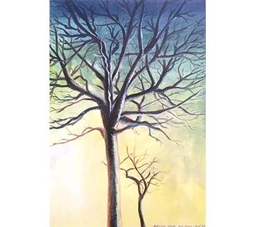 Peinture qui figureras dans « Petits riens » nouvel album de Fred Coconut