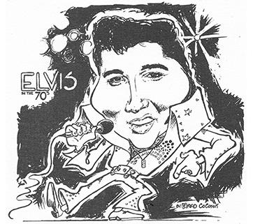 Carte Postale caricature. Années 90