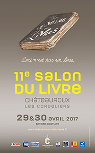 11e Salon du livre - Châteauroux 2017