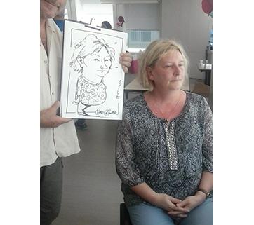 Caricatures en direct à Paris #2, Juillet 18.